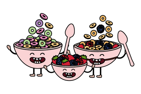 delicious tasty food cartoon