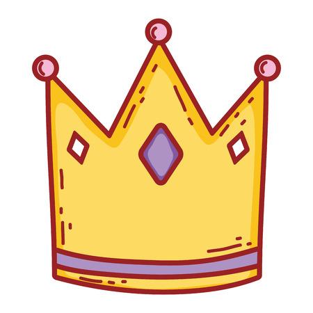 cute queen crown icon