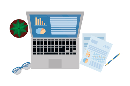 Personal Finance Business-Elemente Cartoon-Vektor-Illustration-Grafik-Design Vektorgrafik