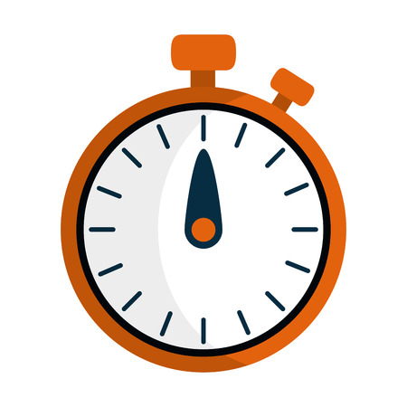 timer clock stopwatch icon isolated vector illustration graphic design