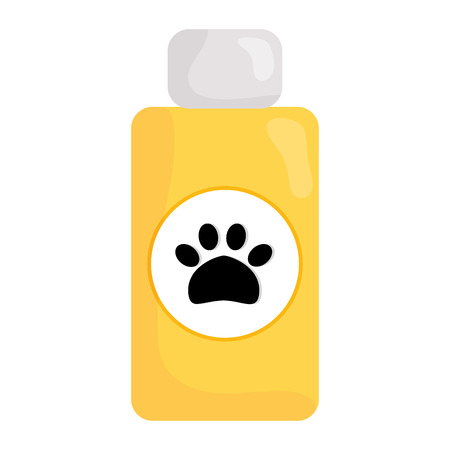 pet shampoo bottle icon