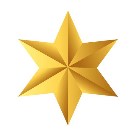 icono de estrella de dibujos animados
