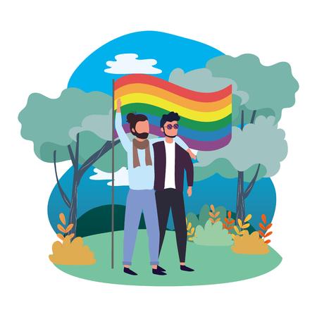 homosexual proud cartoon