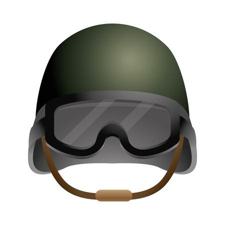 icône de casque militaire