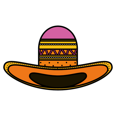 mexican hat traditional icon