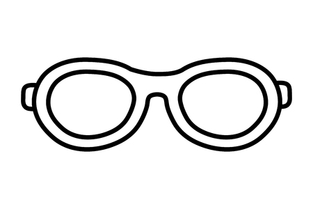 glasses lens cartoon