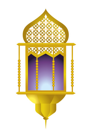 hanging lamp icon cartoon vector illustration graphic design