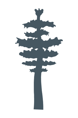 outdoor tree cartoon vector illustration graphic design