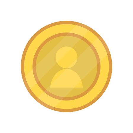 saving money icon cash money coin cartoon vector illustration graphic design