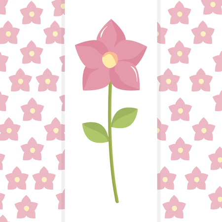 beautiful flower decorative icon vector illustration design Фото со стока - 122943180