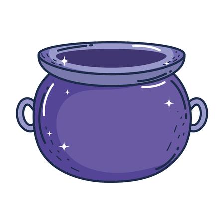 treasure cauldron saint patrick day vector illustration design Ilustrace