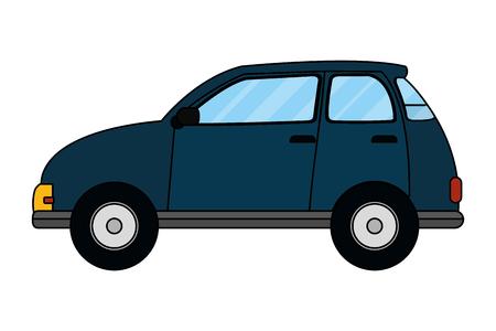 transportation concept car cartoon vector illustration graphic design