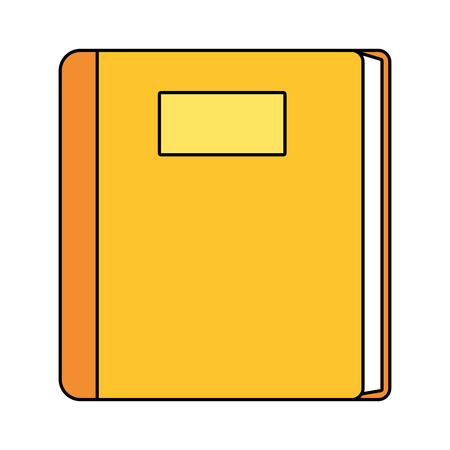 study element book cartoon vector illustration graphic design Иллюстрация
