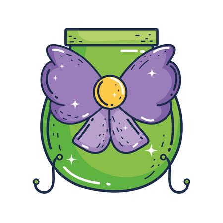 treasure cauldron saint patrick day vector illustration design Stockfoto - 122827235