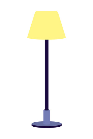 lamp icon cartoon isolated vector illustration graphic design Illustration