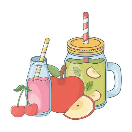 tasty refresh juice cartoon