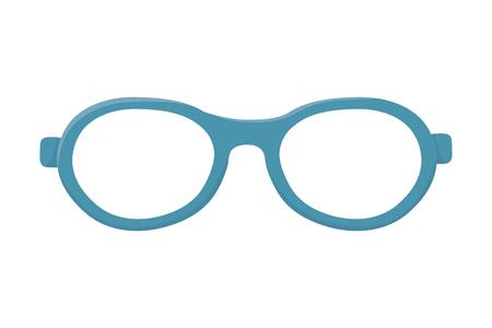 glasses lens cartoon vector illustration graphic design