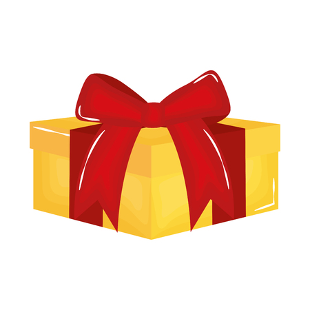 gift box present icon vector illustration design Çizim