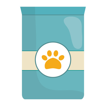 pet food bag icon vector illustration design  イラスト・ベクター素材