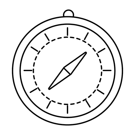 time chronometer cartoon vector illustration graphic design