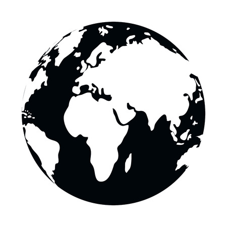 world map cartoon vector illustration graphic design Stockfoto - 122494893