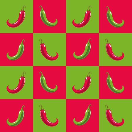 pepper background cartoon vector illustration graphic design