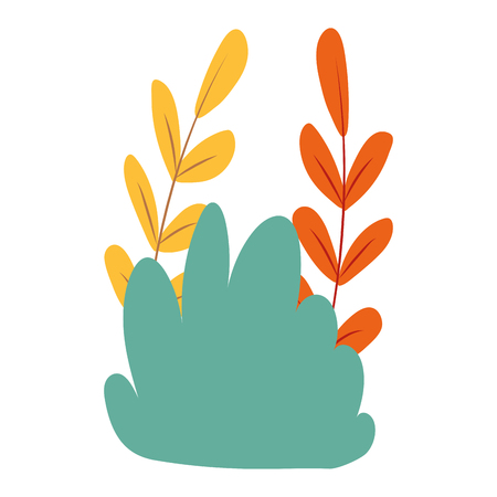 shrubbery icon cartoon isolated vector illustration graphic design Ilustrace
