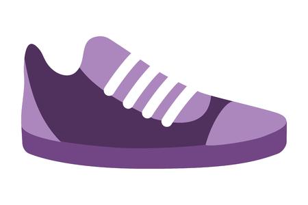 sneaker icon cartoon isolated vector illustration graphic design