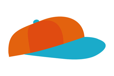 Hat cap cartoon isolated vector illustration graphic design Ilustração