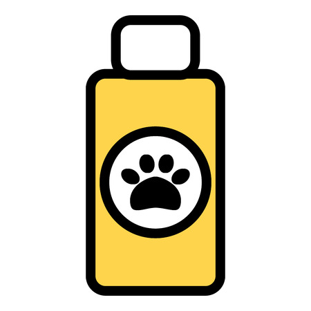 pet shampoo bottle icon