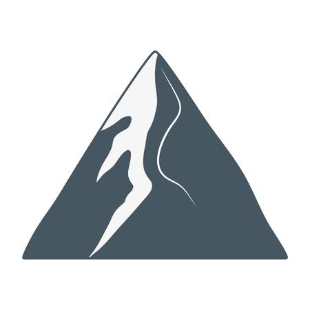 outdoor mountain cartoon vector illustration graphic design Stock Illustratie