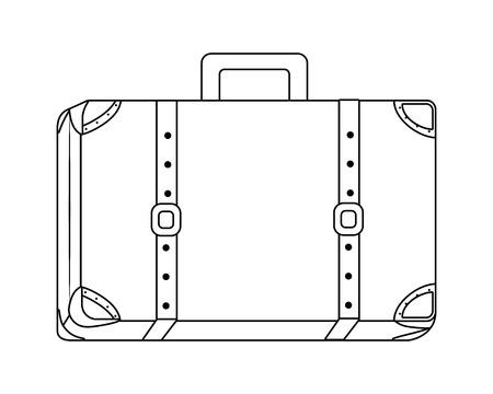 スーツケースと旅行のデザイン ベクターイラストレーション