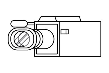 Isolated Videocamera design Ilustrace