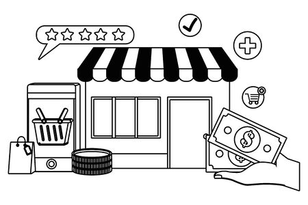Store icon design