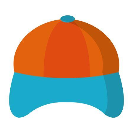 Hat cap cartoon isolated vector illustration graphic design Çizim