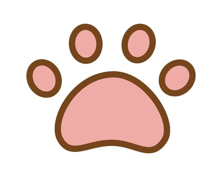 animal paw icon