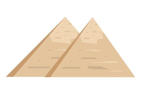 Egyptian pyramids design