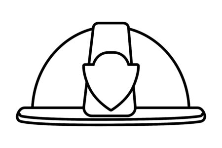 construction architectural tool helmet cartoon vector illustration graphic design