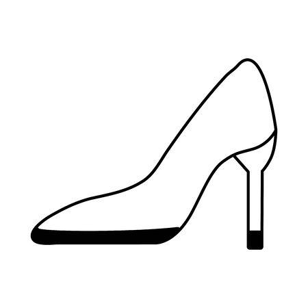 Heels design, Cloth fashion style wear shop retail and store theme Vector illustration Zdjęcie Seryjne - 125238168