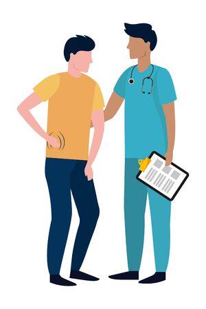 healthcare medical cartoon 向量圖像