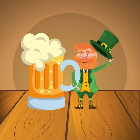 st patricks day cartoon Çizim