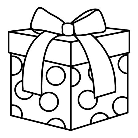 gift box present icon vector illustration design 일러스트