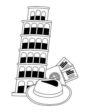 Pisa tower design