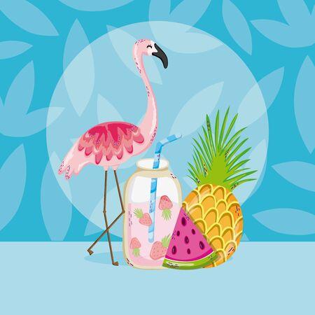 Summer and birds