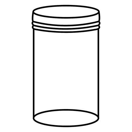 mason jar glass with lid