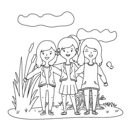 Teenage friends design