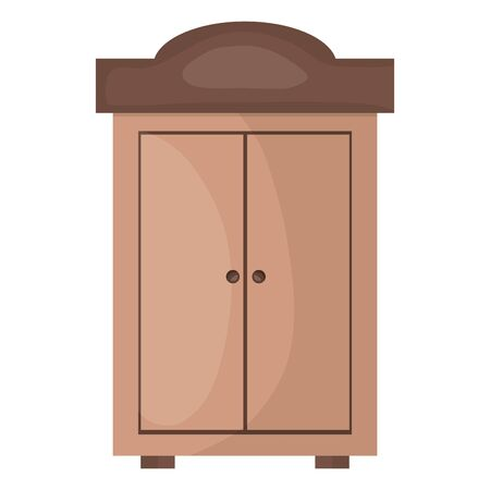 wooden shelf furniture icon