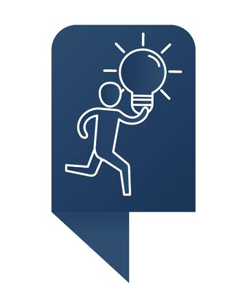 man with bulb cartoon