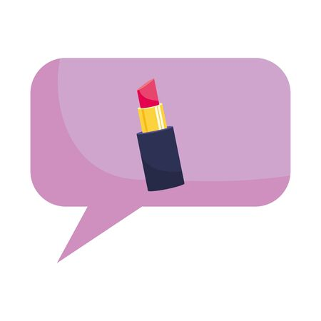Isolated lipstick design vector illustration
