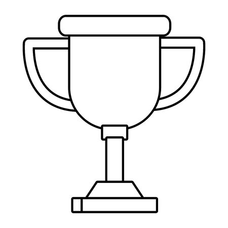 Isolated competition trophy design vector illustration Illustration